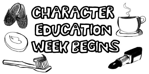 Character Education Week begins: find out how you can help