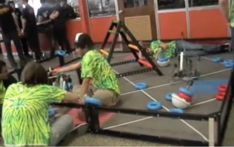 East hosts 26-school robotics competition