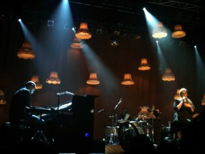 Adele rolls in the deep in Electric Factory performance