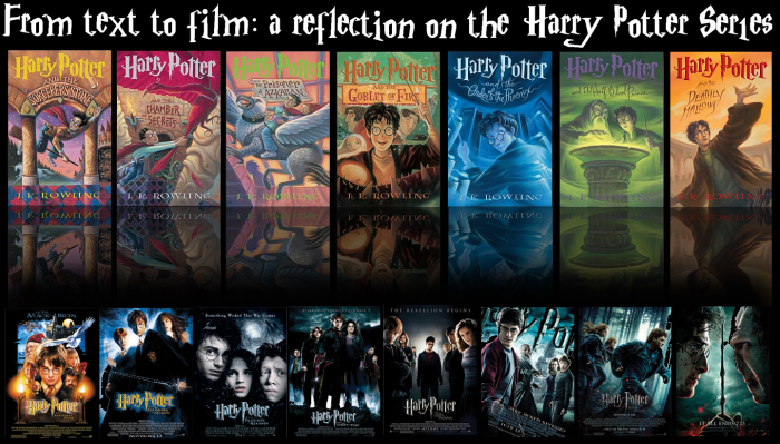 Harry Potter Countdown: Day 4, From Text to Film: a Reflection on the Harry Potter Series