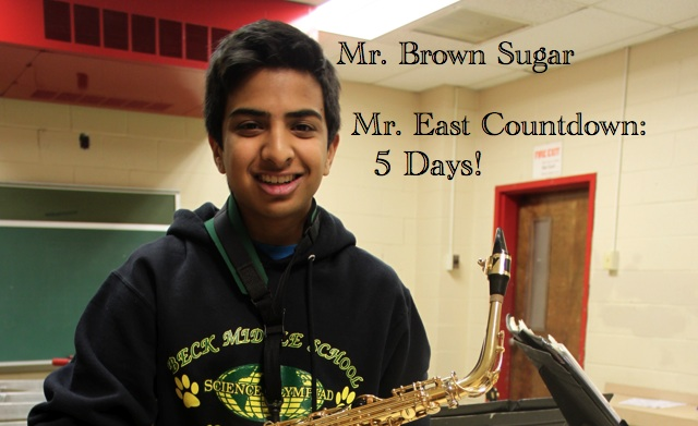 Mr. East Countdown: Mr. Brown Sugar – 5 days to go