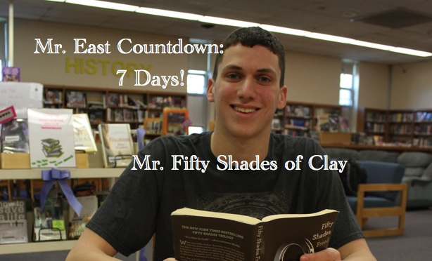 Mr. East Countdown: Mr. Fifty Shades of Clay – 7 days to go