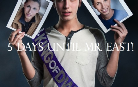 Mr. East Countdown: Mr. King of D-Wing—5 days to go!
