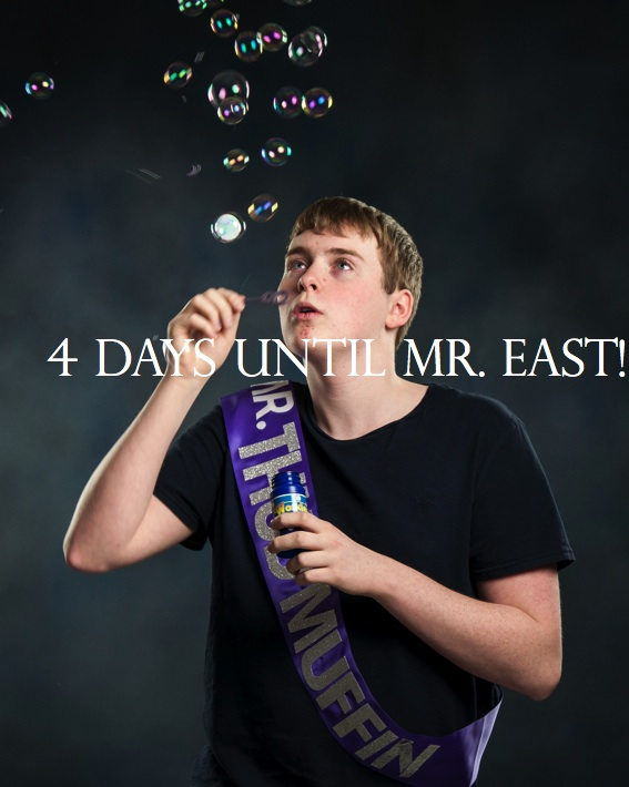 Mr. East Countdown: Mr. Thud Muffin—4 days to go!