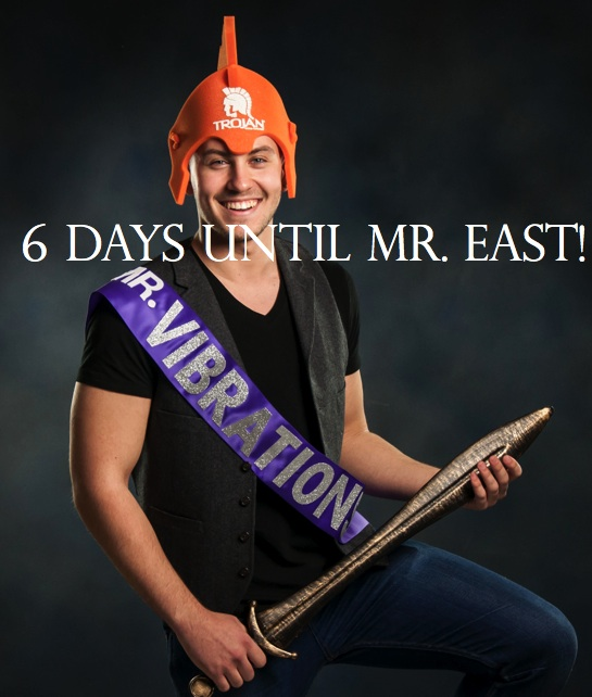 Mr. East Countdown: Mr. Vibrations—6 days to go!