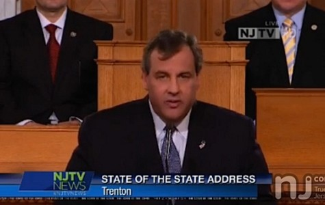 Governor Christie delivers his State of the State address.