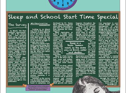 Sleep issue looks at school start time