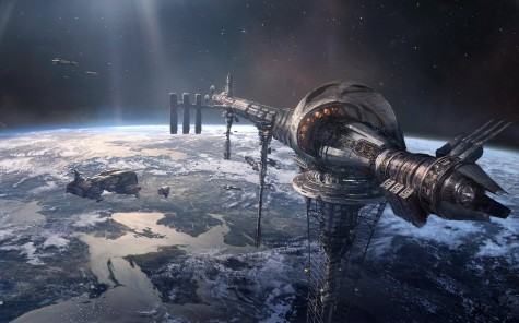 The Rush for Cities in Space
