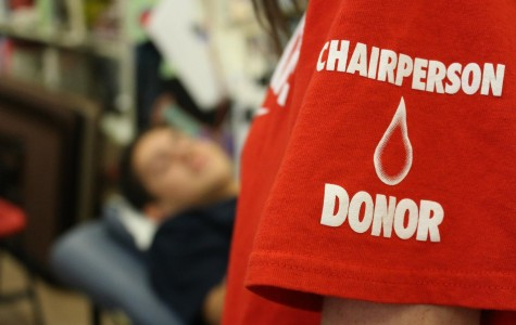 East students successfully donate blood during Fall Blood Drive.