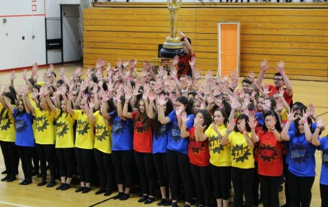 Juniors win Spirit Week dance competition