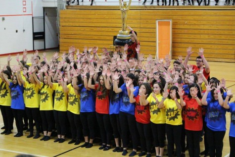 Juniors win Spirit Week dance competition