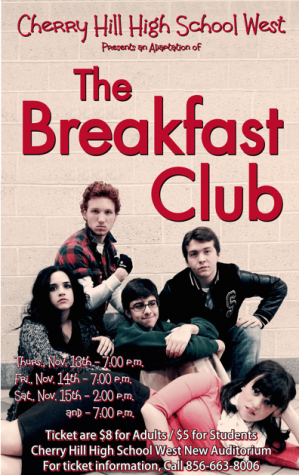 "Cherry Hill West transports audiences to the 80's with ""The Breakfast Club"""