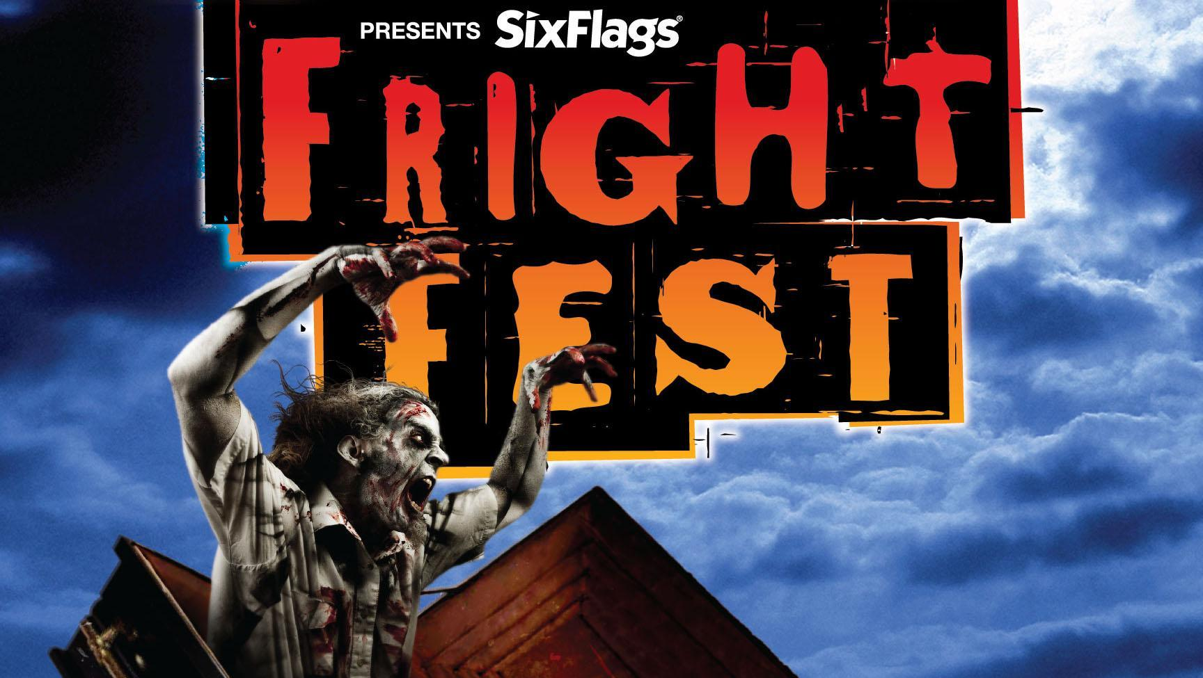 Fright Fest offers many park attractions for its visitors.