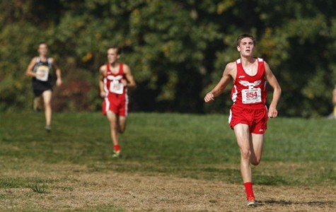 Aaron Groff competes at Nike Cross Nationals in Portland, Oregon
