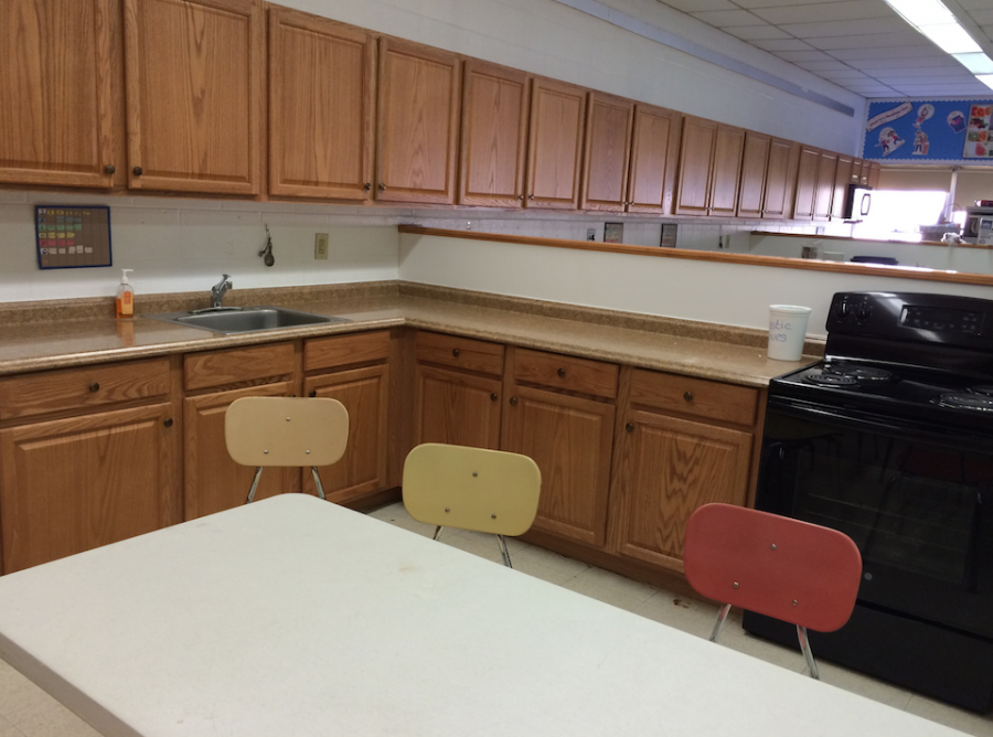The Culinary Arts Center has new sinks that cooking students can utilize.