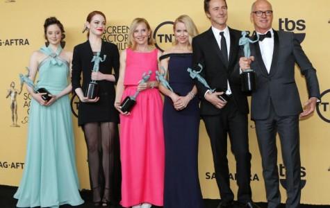 Birdman wins for best cast at SAG awards.