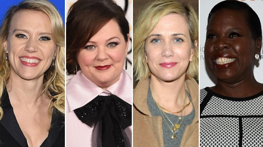 Ghostbusters comes back with a female dominated version