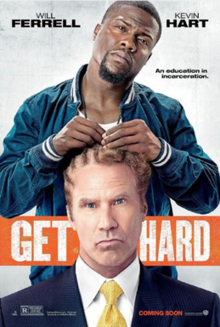 Get Hard displays crude humor between Ferrell and Hart