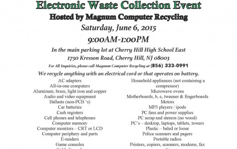 E-Waste Collection Day proves successful at East