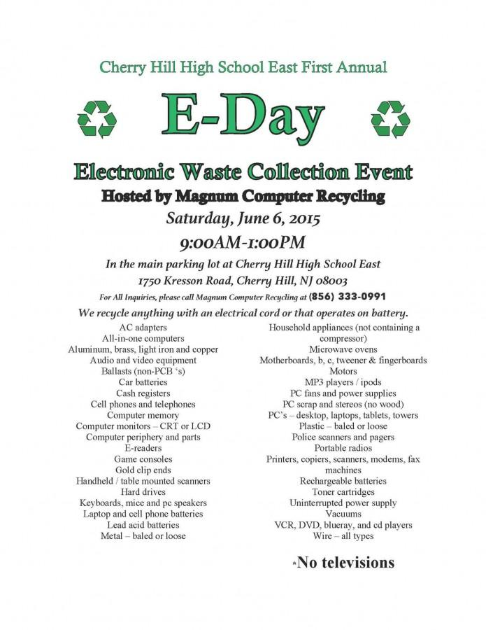 E-Waste+Collection+Day+proves+successful+at+East