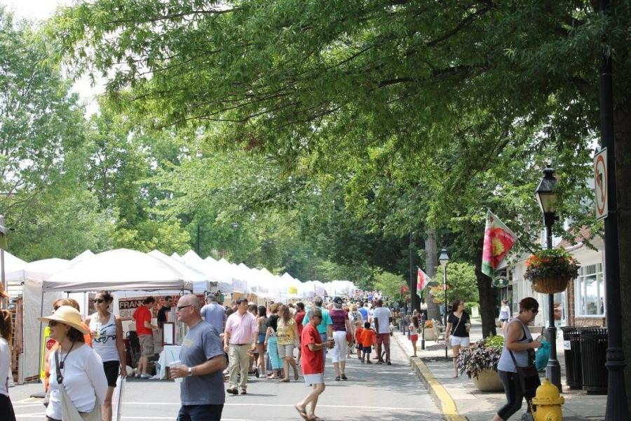 Haddonfield Crafts and Fine Arts Festival lights up Kings Highway