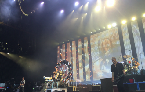 Foo Fighters performs at the Susquehanna Bank Center