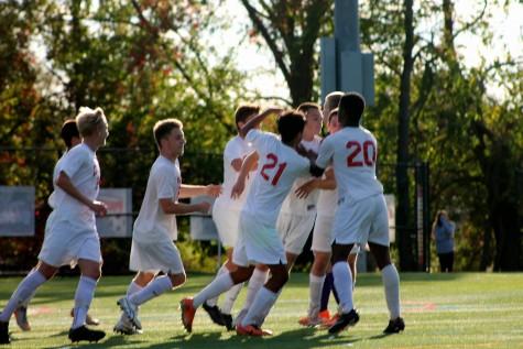 East Boys Soccer defeats rival West team 1-0