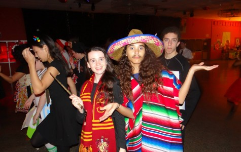 Students enjoyed their time at last year's Halloween Dance.