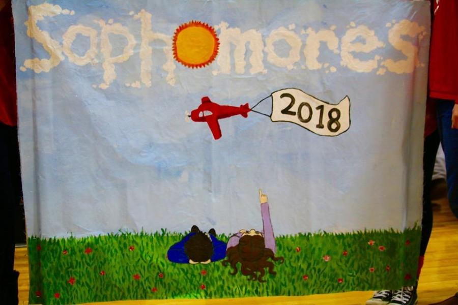 East Sophomore class of 2018 banner