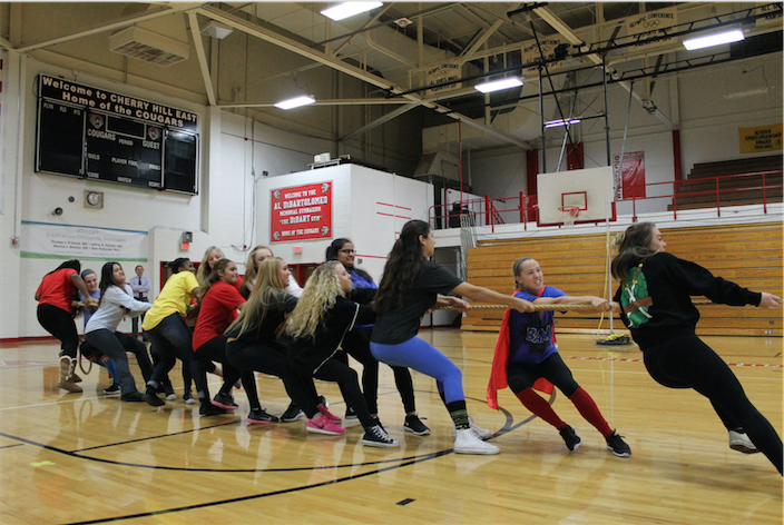 Seniors win tug of war competition