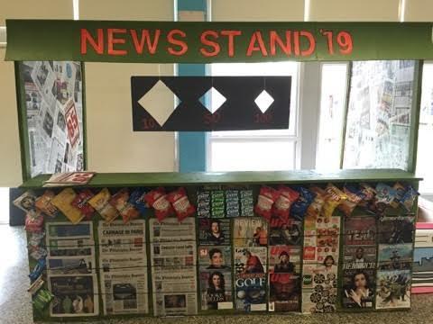 Freshman wins Spirit Week booth decorating
