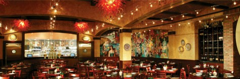 Golden Nugget Grotto serves authentic italian food.