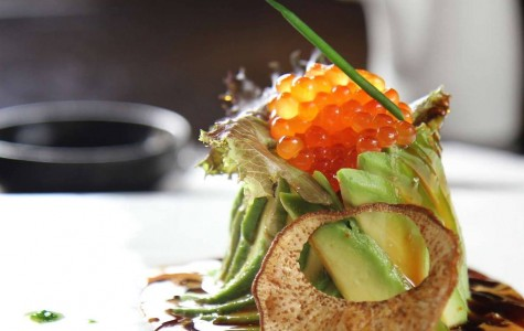 Osushi offers an assortment of Japanese dishes