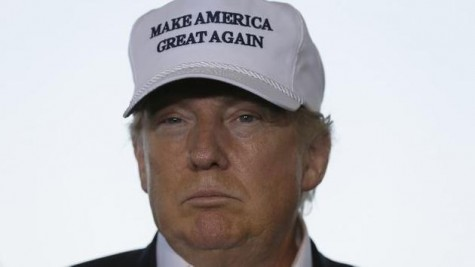 """Donald Trump's campaign slogan, """"Make America Great Again"""" is meaningless"""
