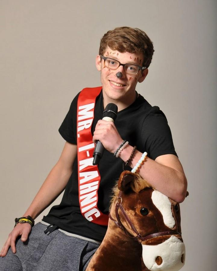 David Kahn, also known as Mr. I-Kahnic, is one of the ten contestants for Mr. East.