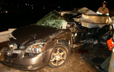 Crash Assembly teaches students about the dangers of drunk driving