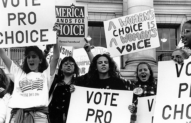 Many American women are pro-choice, and will fight to support their beliefs.