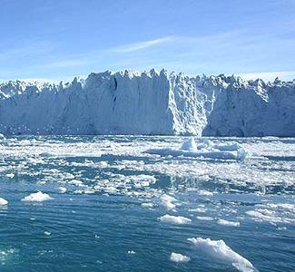 Greenhouse gases are destroying the polar ice sheets