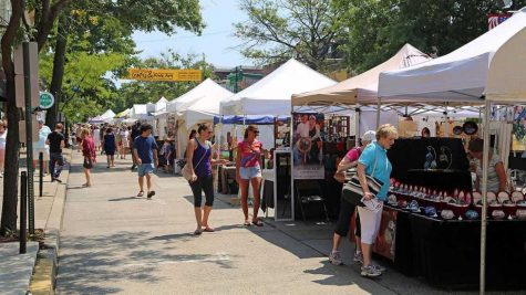 The annual Crafts and Fine Arts Festival takes over the streets of Collingswood