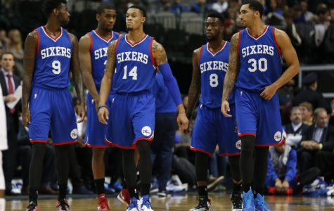 The Philadelphia 76ers enthusiastically prepare for the upcoming 2016-2017 NBA season
