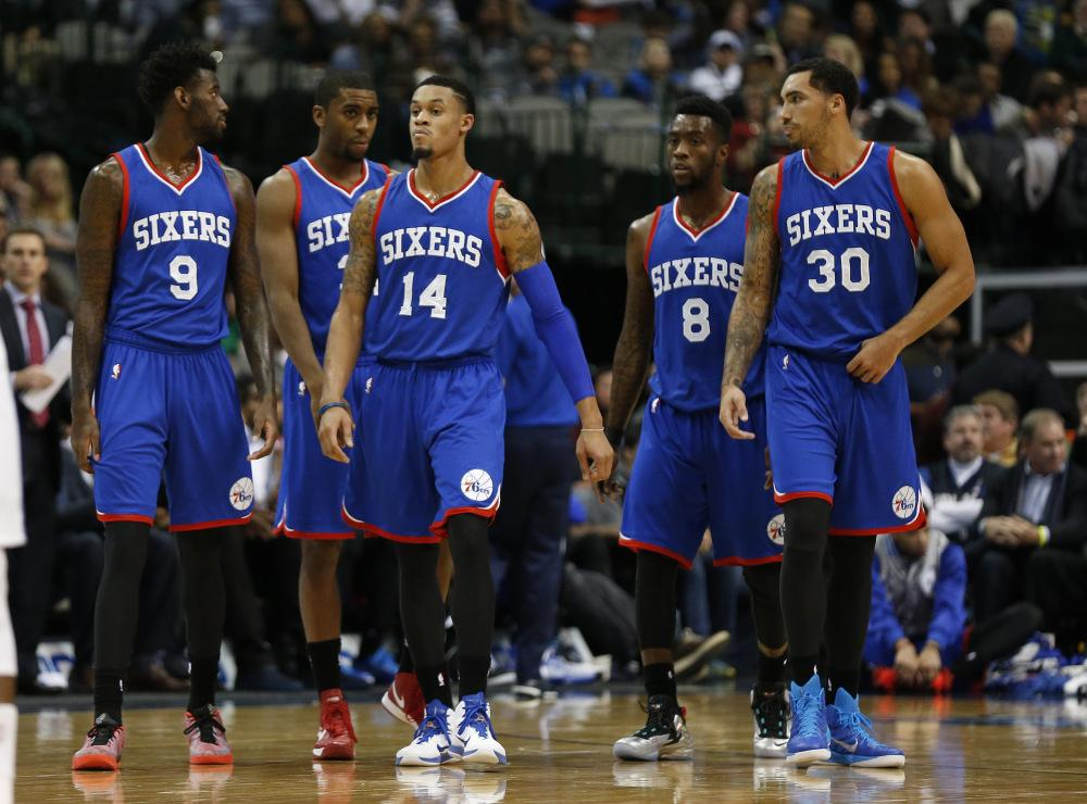 With the start of the NBA season only days away, the Philadelphia 76ers remain hopeful for a good season.