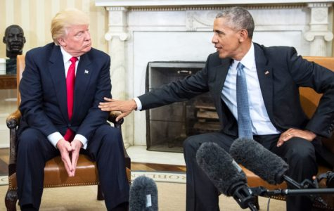 Trump and Obama meet for the first time following the election.