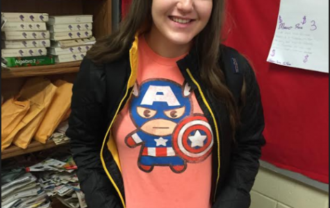 Students dress up as their favorite superheros on Friday.