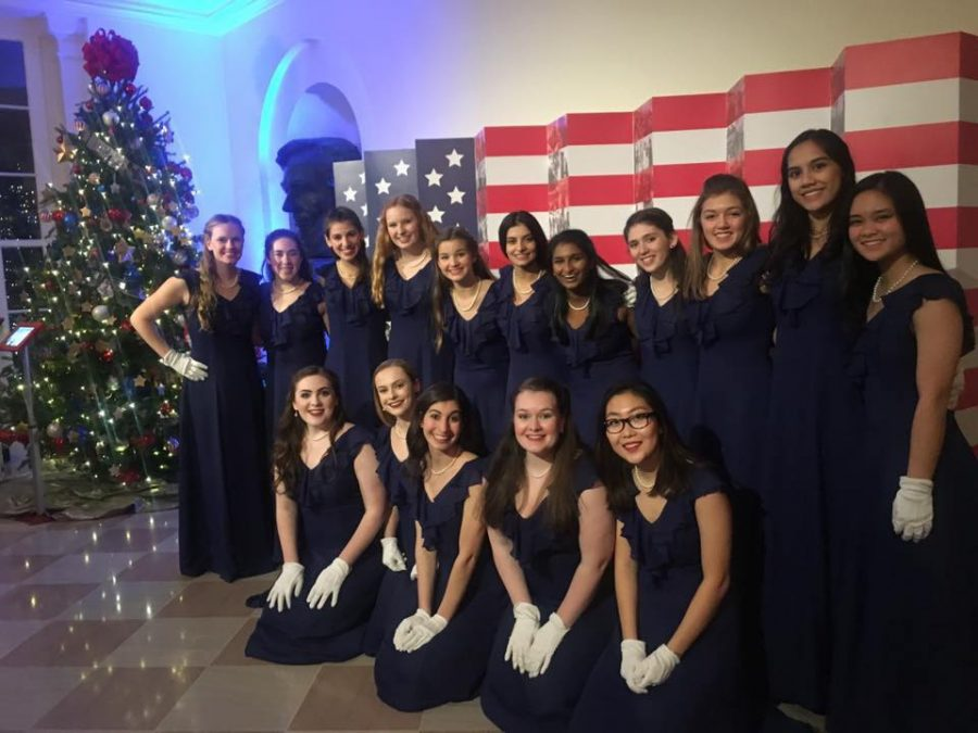 Belles and Voce visit the White House.