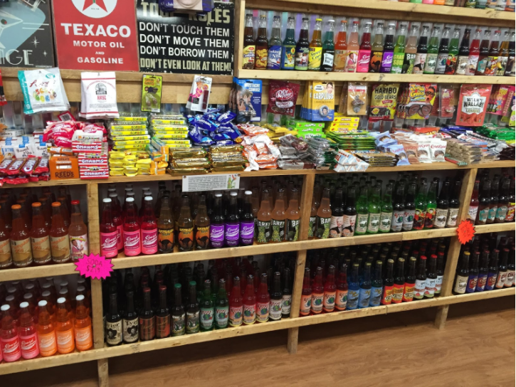 Rocket Fizz sells an insane variety of sodas, with flavors ranging from buffalo wing to pumpkin pie.