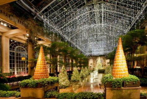 Longwood Gardens puts on an incredible Christmas display from November 24th to January 8th