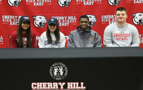 Cherry Hill East Athletes Commit to College