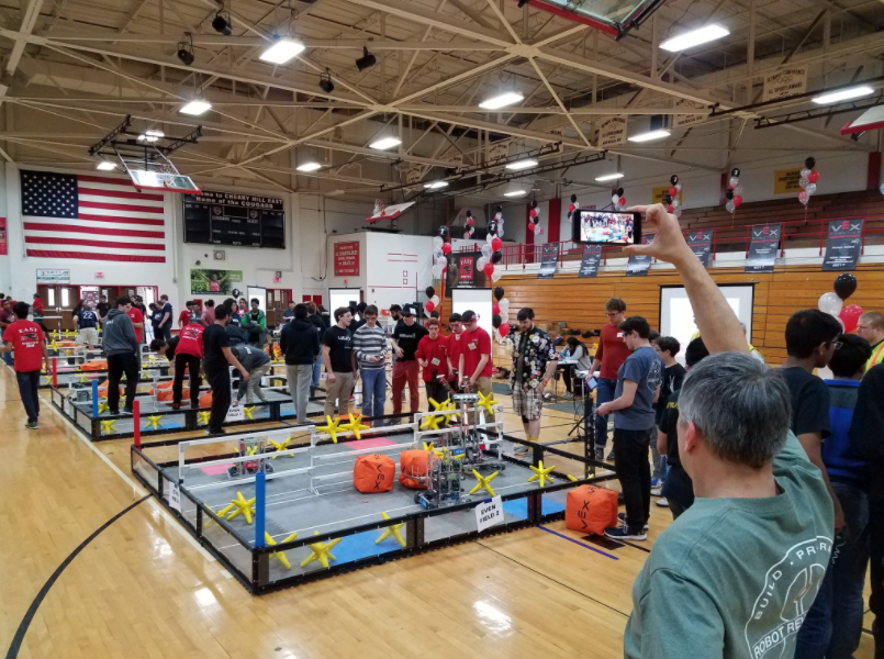On+March+4th%2C+East+hosted+the+state+competition+for+VEX+Robotics.+