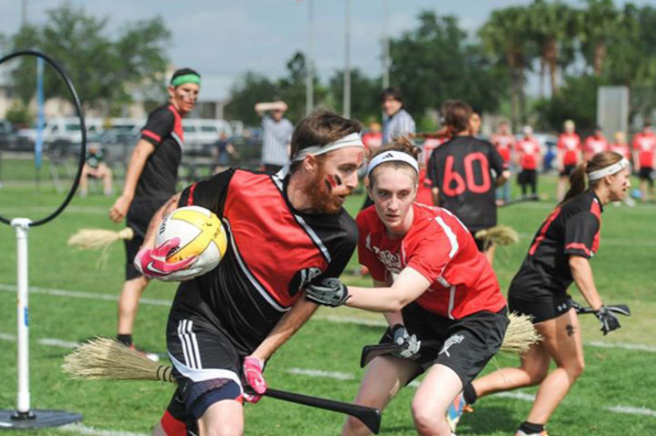 Various colleges now offer quidditch as a sport for students.