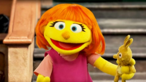 Sesame Street introduces Julia, its first muppet with Autism